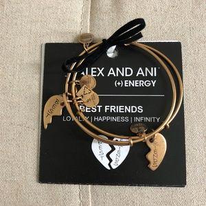 Alex and Ani (+) Energy Best Friends bracelet